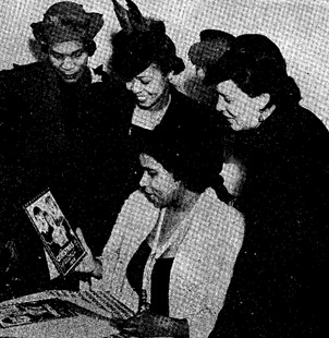 Rachel Flowers pic with Marian Anderson