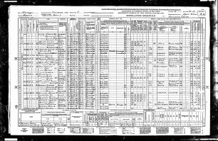 1940 United States Federal Census for Myrlie Beasley
