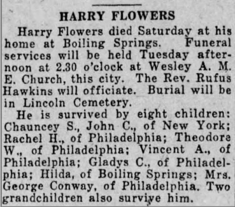 Harrisburg Telegraph, 1928