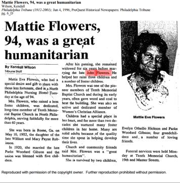 Mattie Flowers